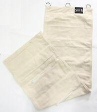 KUNG fu wing chun MURO FERRO Palm Punch Bag in tela Bianco - 5 sezioni (Un-riempita)