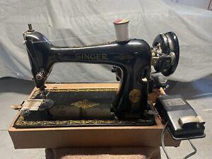 1941 SINGER Model 66 Sewing Machine w/ Case, ~ WORKS