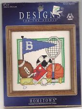 DESIGNS FOR THE NEEDLE CROSS STITCH KIT--SPORTS--NEW IN PACKAGE