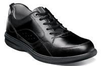Nunn Bush Kore Walk Moc Toe Oxford Shoes Black 84811-001