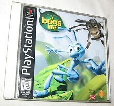 A Bug'S Life Sony PlayStation 1, 1998 Action Adventure, U.S.A