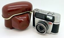 Vintage Braun Nürnberg Paxette Electromatic I 35mm Camera + Case #4253