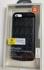 Protective Case + Power Bank 2500mAh for iPhone7 (Black)