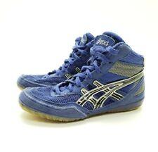 Asics Matflex Wrestling Boxing Mma Shoes Blue Youth Size 1.5 Eu 31.5C129N