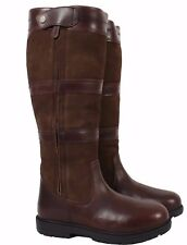 Shires Moretta Nella Long Boots, Brown, UK 8, Calf - Wide, Height - Standard