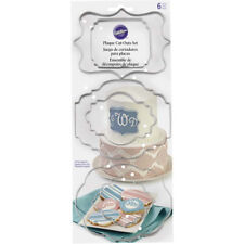 Wilton Plaque Fondant Cut-Out Set, 6 Pc.