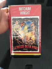 VHS, Cassette Vidéo, K7 : LA VALLÉE DE LA PEUR, Mitchum, Anderson, Western