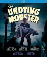 PRE  ORDER: THE UNDYING MONSTER (JAMES ELLISON) - BLU RAY - Region A - Sealed