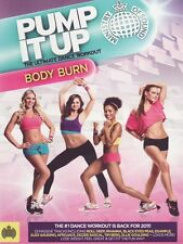 Ministry Of Sound Pump It Up Body Burn Exercise Fitness DVD FREE SHIPPING