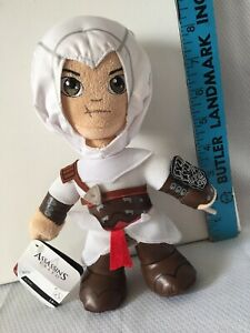 """Ubisoft Assassins Creed Video Game 9"""" Altair Plush Figure Xtreme Play New"""