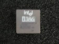 Intel Model: A80386DX-25 IV Processor.  SX133  <