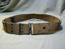 New listing Vintage 1918 U.S. Military Web Belt Marked P.B. & Co.