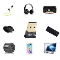 Mini USB Bluetooth Adapters V 4.0 Dual Mode Wireless Dongle CSR 4.0 Win7 Y DD