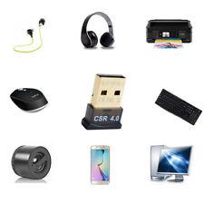 Mini USB Bluetooth Adapter V 4.0 Dual Mode Wireless Dongle CSR 4.0 Win7 /8/XPHV