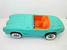 Vintage 1960'S Barbie Car Irwin Sportser Turquise Mercedes Benz Vehicle