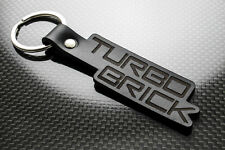 Volvo TurboBrick Leather Keyring Keychain Schlüsselring Porte-clés Turbo 240 740