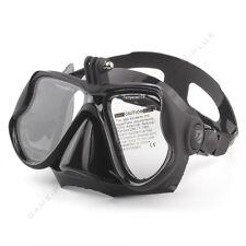 Black Diving Mask Scuba Snorkel Goggles Face Glasses Mount for GoPro Hero 3 3+ 4