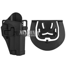 CQC Serpa Concealment Right Hand Waist Paddle Holster for Sig P228 P229 P250DCc