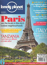 LONELY PLANET TRAVELLER May 2015 PARIS Tanzania Italy Lisbon Crete CUBA Travel