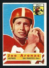 1956 Topps Football Card # 38 - Joe Arenas - San Francisco 49ers Halfback