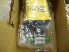 """Swagelok 1/2"""" Vcr Ball Valve W/ Electric Actuator, Ss-63Tvcr8-42Ac"""