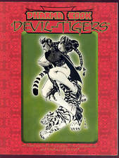 Dharma Book Devil-Tigers Vampire Masquerade Kindred of the East White Wolf 1999