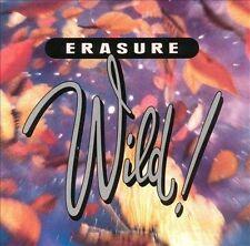 ERASURE Wild!, original issue CD, 1989, VG
