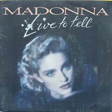 """Vinyle 45T Madonna """"Live to tell"""""""