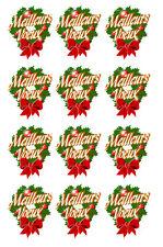 Stickers MEILLEURS VOEUX - Adhésif adhesive autocollant Nouvel an Bonne année