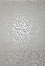 Carta Da Parati rasch CHELSEA 758733 crema bianco Fond metallico brillante