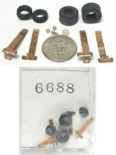 12 pc+ 1991 TYCO TCR HO Slot Car Chassis Rare OEM Original Factory Tune Up Parts