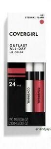 CoverGirl Outlast All-Day Lipcolor Colorcoat Topcoat Eternal Flame 521