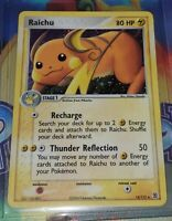 RAICHU 12/112 Holo Rare EX Fire Red & Leaf Green Pokemon Card MINT - NEAR MINT