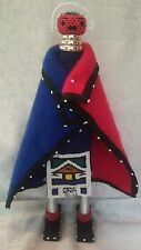 """NDEBELE BEADED DOLL Large Size 17"""" Tall BEAUTIFULLY HANDMADE South Africa"""