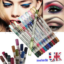 12 Colors Glitter Eyeliner Pencil Pencil Pen Cosmetic Makeup Set Mix colors