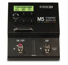 LINE 6 M5 STOMPBOX MODELER GUITAR EFFECTS PEDAL & POWER SUPPLY
