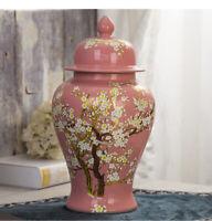 E232 Hand Craft Cloisonne Solid Ceramic Keepsake Cremation Memorial Funeral Urn