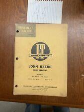 I&T John Deere 720 730 Diesel Row-Crop Tractor Shop Service Repair Manual Jd-11