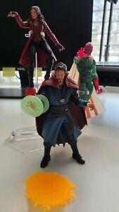 Marvel Legends Infinity War Doctor Strange, Scarlet Witch, And Vision Bundle