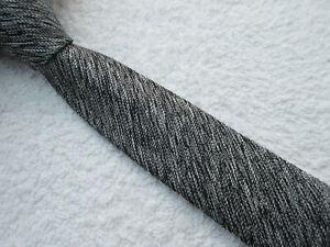 BLACK WHITE SKINNY SLIM 2.25 inch polyester tie NECKTIE