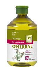41645 Shampoo for Coloured hair with Thyme extract O'Herbal 500ml Elfa Pharm