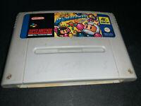 Super Bomberman Bomber man SNES Super Nintendo PAL