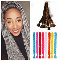 Fashion Synthetic Ombre Braiding Hair 82 inch Unfold 160g Hair Xpression Women