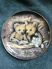 """""""Bedtime Story� Franklin Mint HeirloomBy Sue Willis Je6765 Plate"""