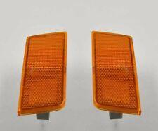 Pair Left Right Front Bumper Side Turn Signal Lamp Marker for Chrysler 300 300C