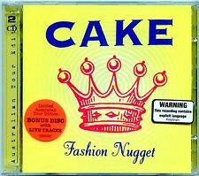 CAKE - FASHION NUGGET 2 CD IMPORT VERSION LIVE TRACKS MINT 1996