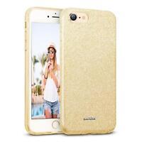 Handy Hülle für iPhone 7 Schutz Hülle Silikon Cover Glitzer Case Slim Tasche