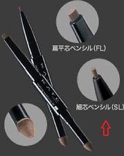 "JAPAN Kanebo Lasting Design Eyebrow W ""SL"" Powder Pencil with Soft Brush ""BR-1"""