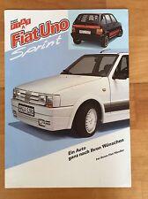 1985 Fiat Uno Sprint, Deutscher Zubehör-Prospekt Brochure