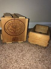 Napa Valley Box Company Wooden CD Box & Cassette Storage Rack Holder Organizers
